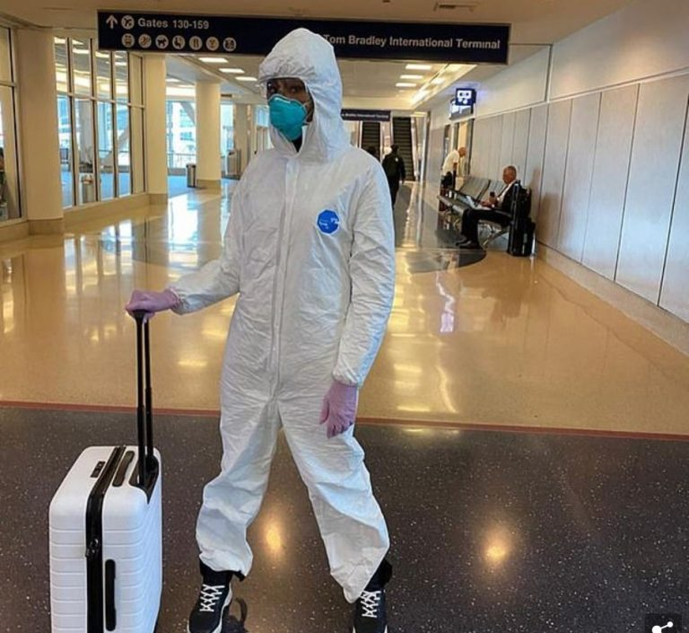 Read more about the article Naomi Campbell's Hazmat Suit, A Do or Don't for Public Health?